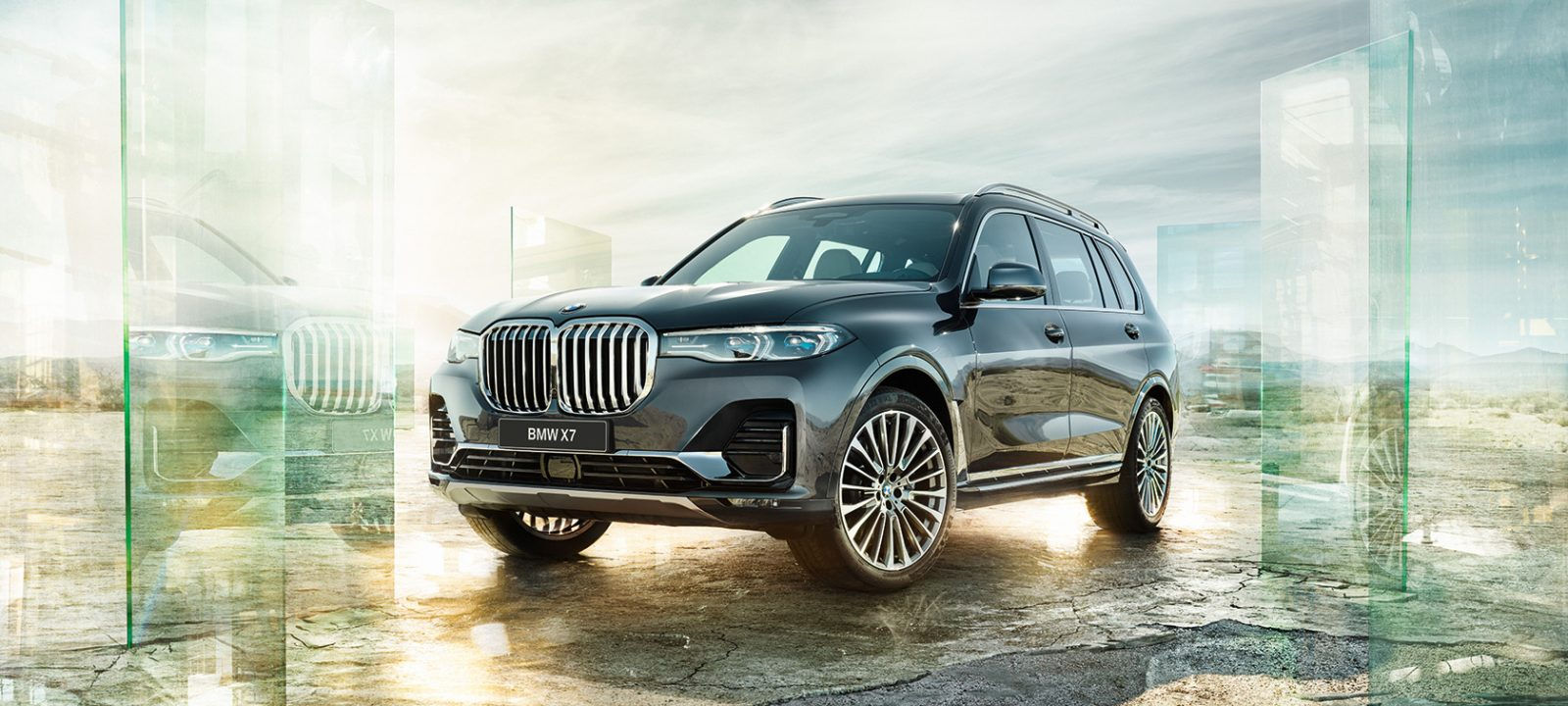 BMW X7.