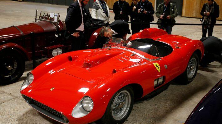 Ferrari 335 S Spider Scaglietti 1957 года