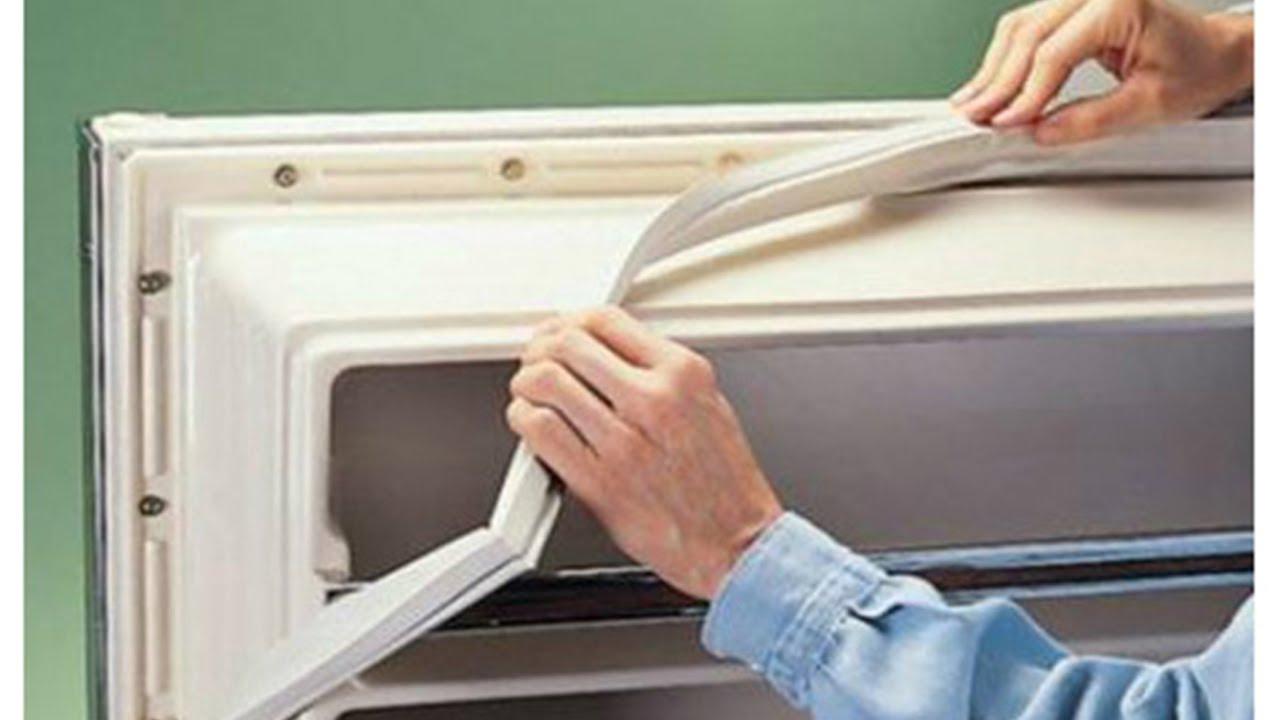 Замена уплотнителя в холодильнике