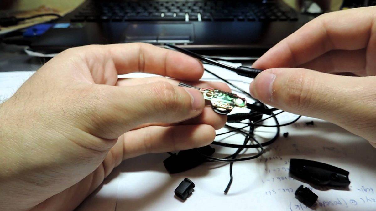 Починка сломанного штекера и провода от наушников
