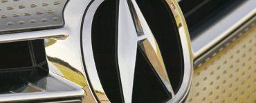 Эмблема «Акура» на авто.