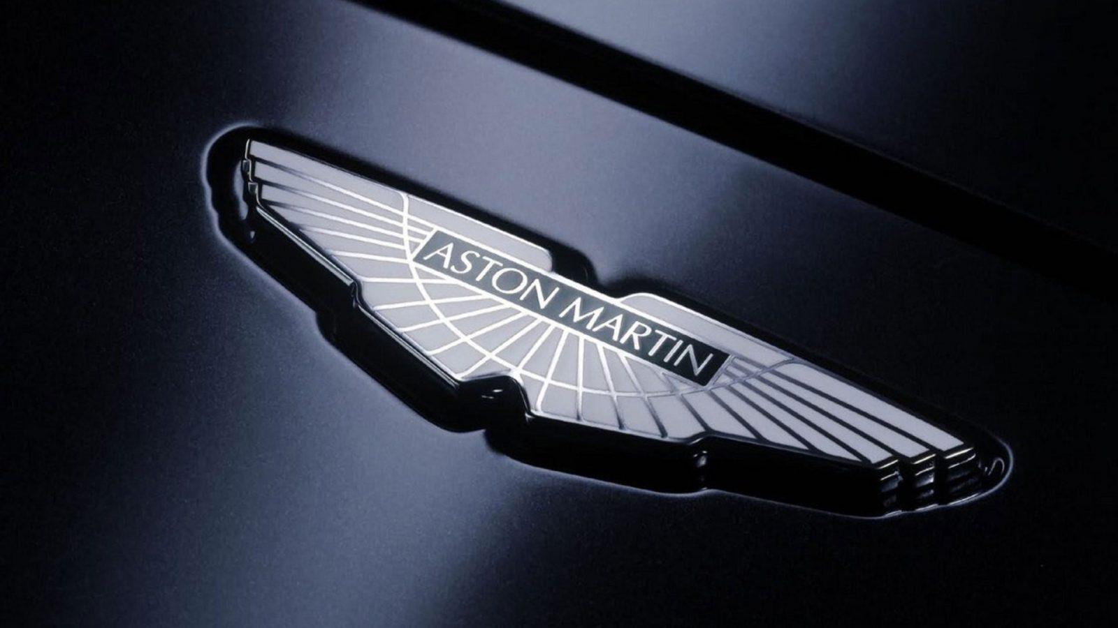 Логотип «Астон Мартин».