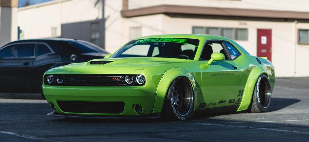 Dodge Challenger тюнин