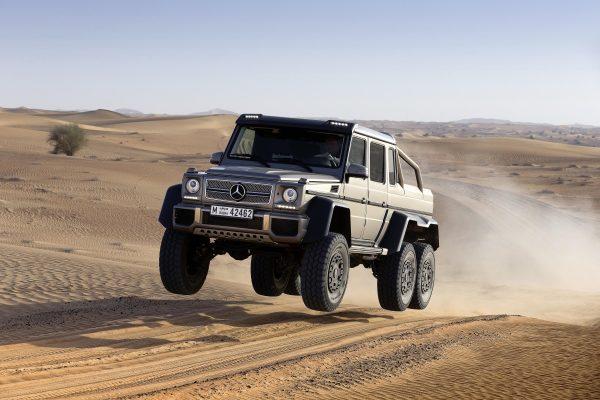Mercedes-Benz G-Класс AMG 6x6.