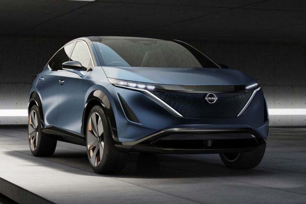 Nissan Ariya - первый в мире электрокроссовер. Слухи и последние новости