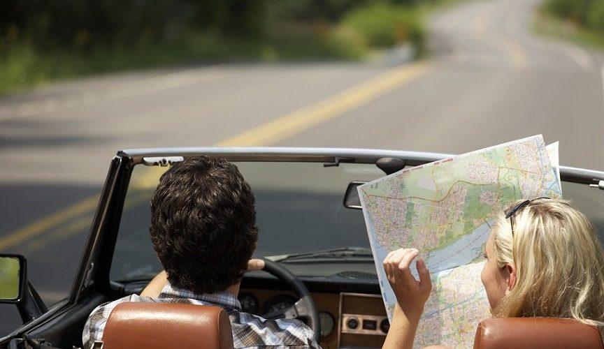 Карта в машине
