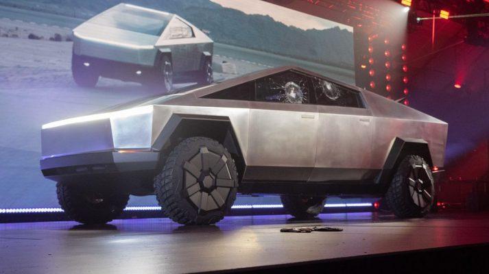 Tesla показала детище — пикап Cybertruck в футуристическом стиле