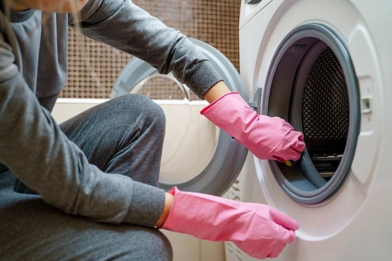 Избавляемся от плесени в стиральной машинке.