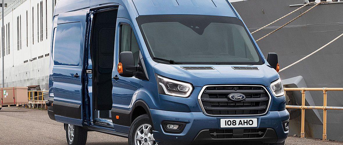 Новый Ford Transit.