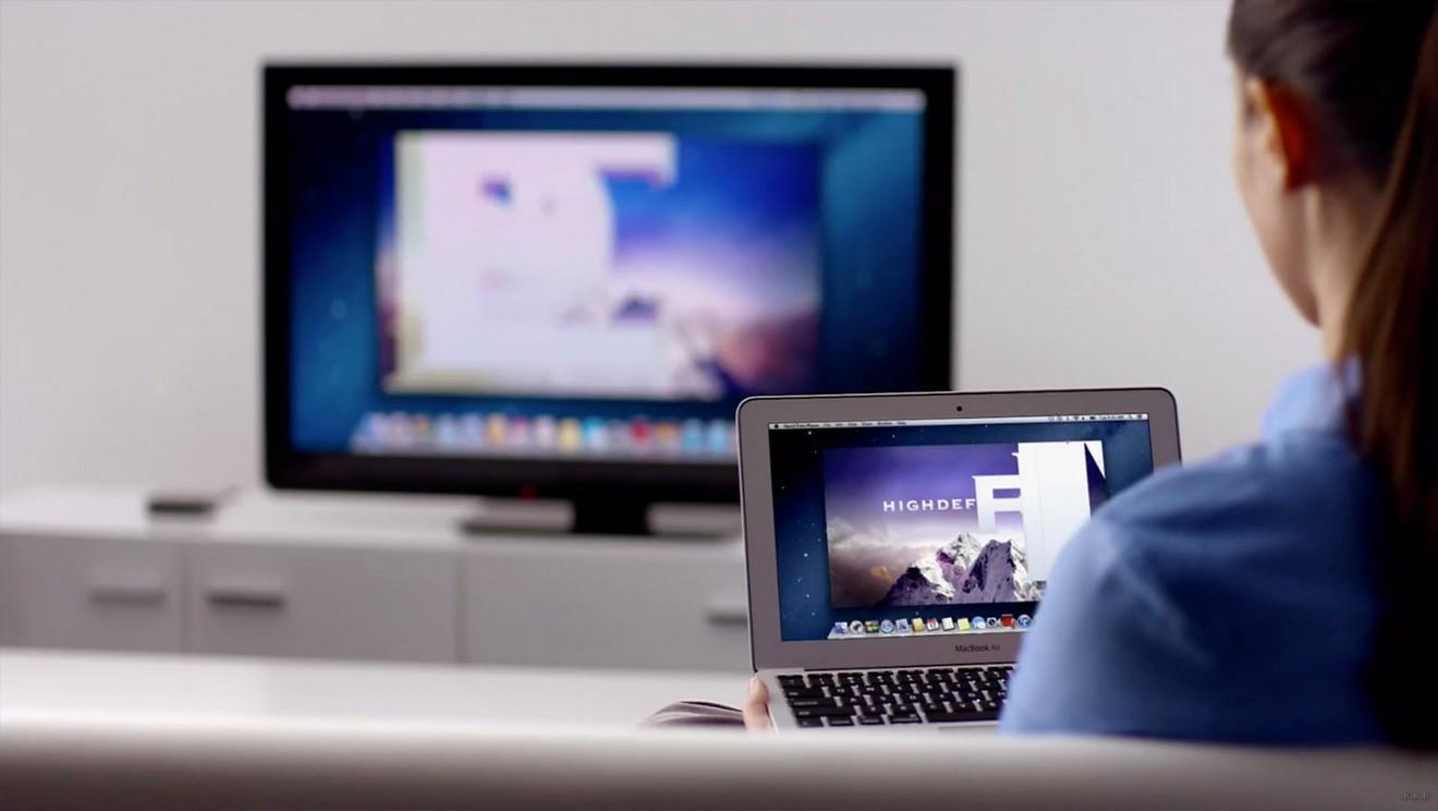 Как подключить телевизор к ноутбуку?