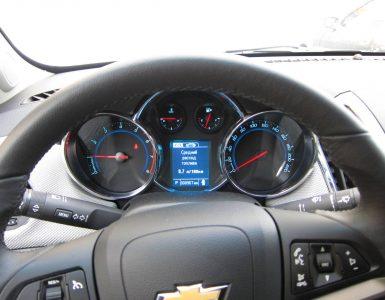 Расход топлива Chevrolet Cruze – утекающие километры