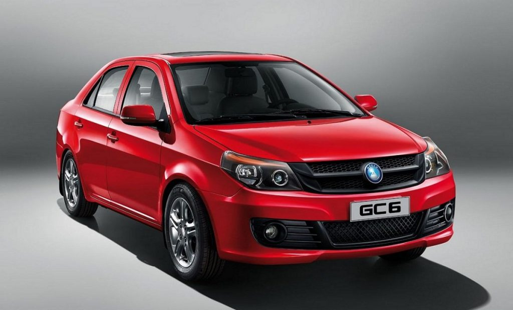 Geely GS 6.