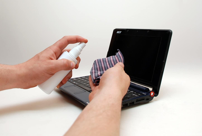 Чистка ноутбука.
