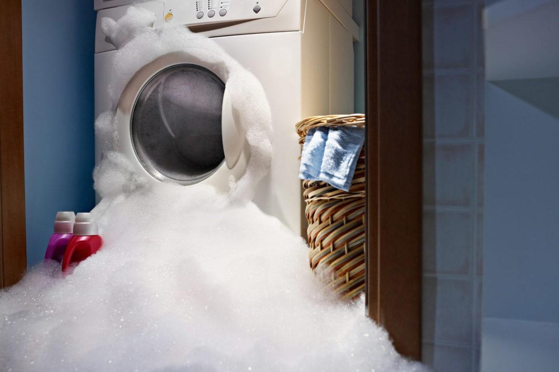 Большой потоп: стиральная машина не сливает воду, что делать?