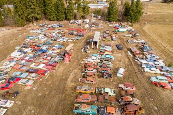 Существуют ли автомобильные кладбища в России, как в Америке