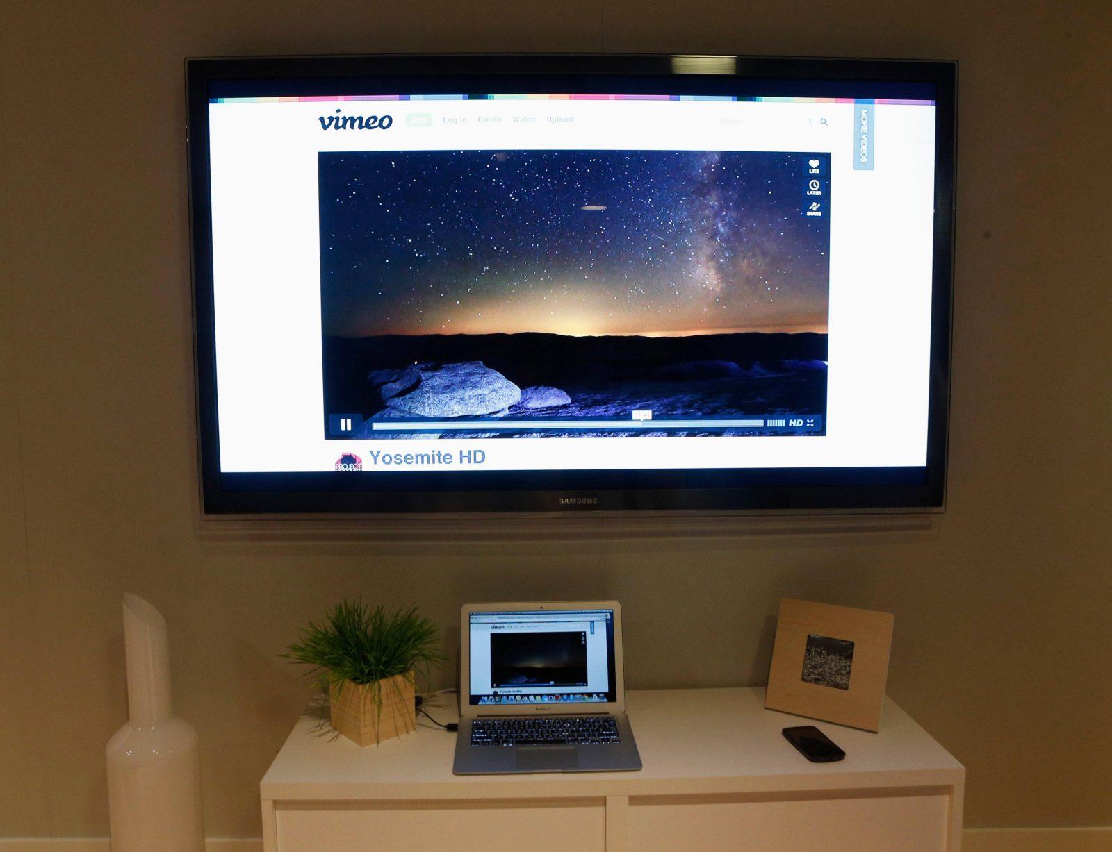 Трансляция с ноутбука на телевизор через Wi-Fi
