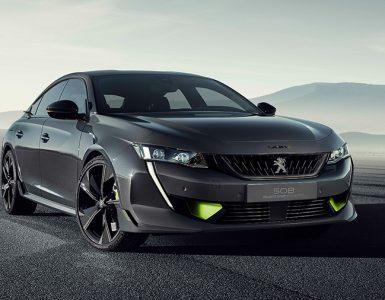 Концепт гибрида Peugeot 508 Sport Engineered выпустят на конвейер