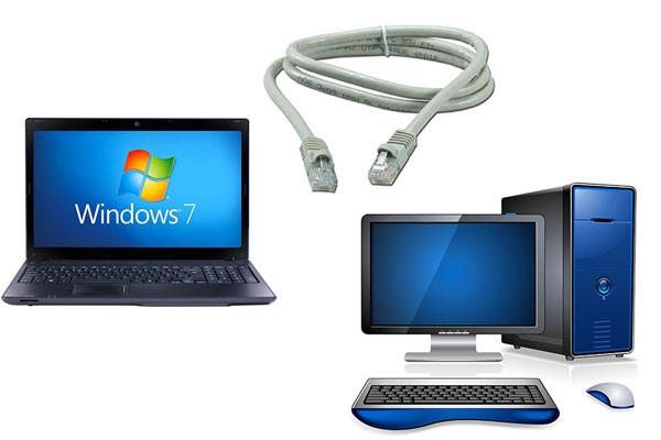 Подключение ноутбука к компьютеру