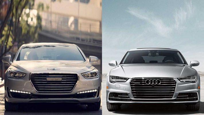 Genesis и Audi A7