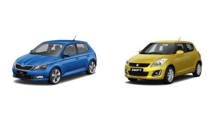 Skoda Fabia и Suzuki Swift