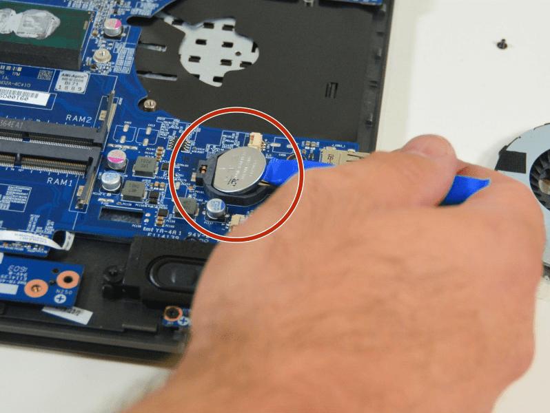 Как снять пароль с БИОСа на ноутбуке