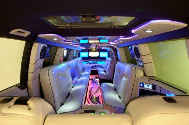 range rover limousine