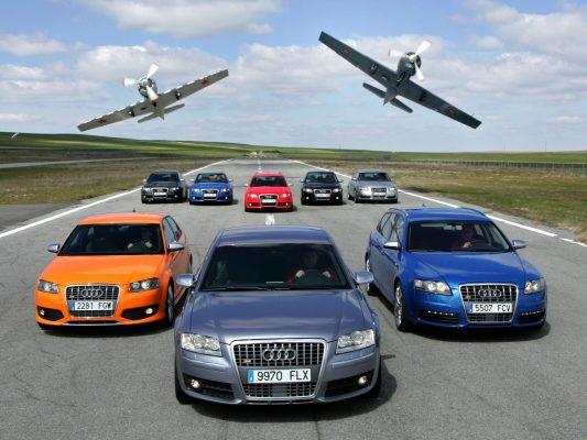 Все новые Audi
