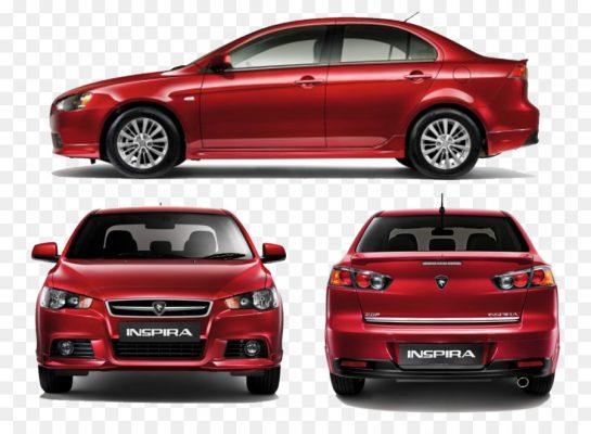 Mitsubishi Lancer и Proton Inspira
