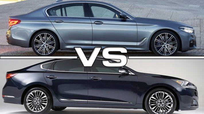 Kia Quoris и BMW 7 серии