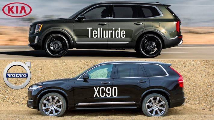 Kia Telluride и Volvo XC90