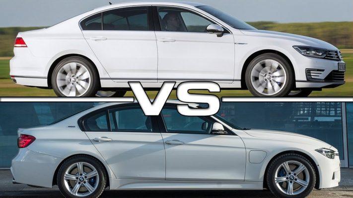 Volkswagen Passat и BMW 3