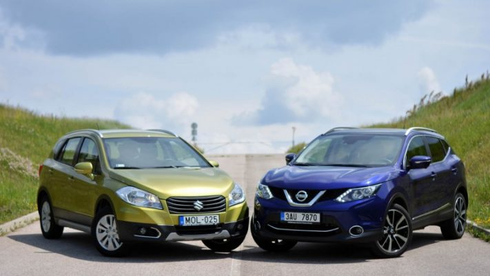 Nissan Qashqai и Suzuki SX4 S-Cross