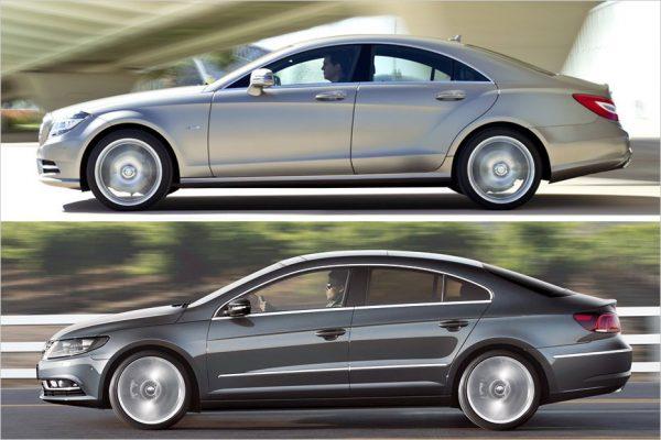 авто похожие друг на друга