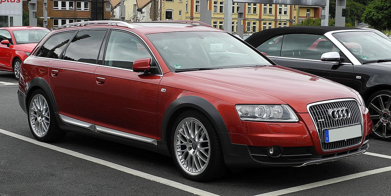 Audi A6 Allroad – из бизнес-класса во внедорожник