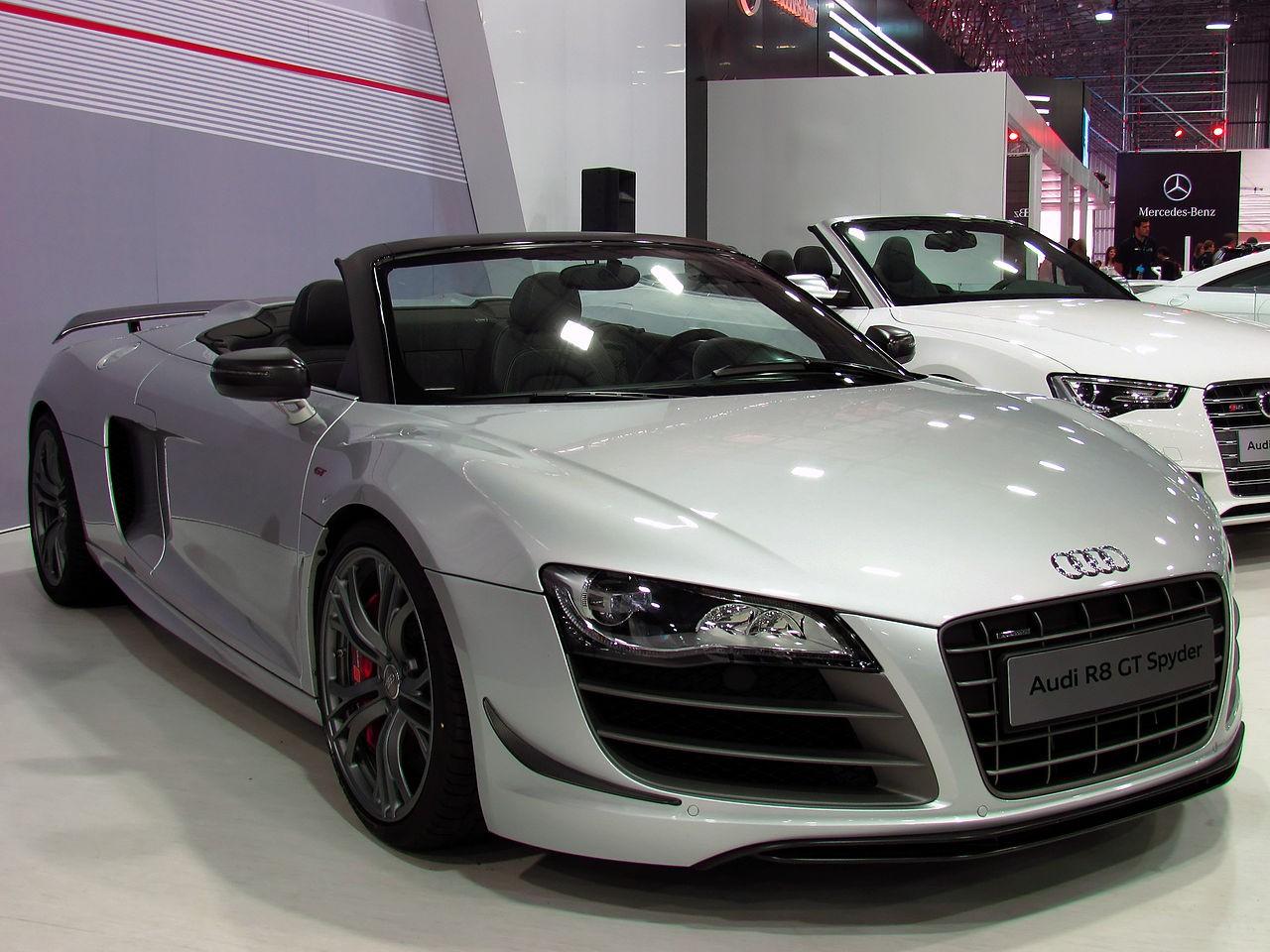 Audi R8 – изменчивый немецкий спорткар