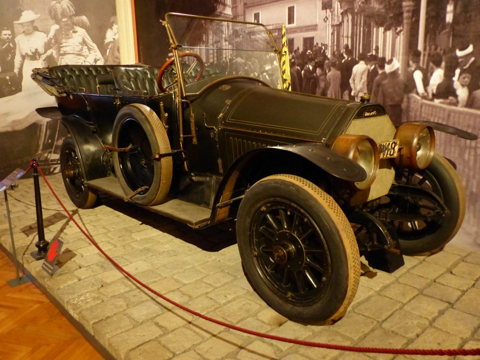 Кабриолет Франца Фердинанда в музее