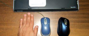 Ноутбук-мышь