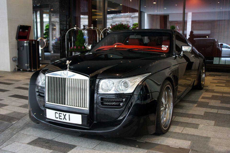 Rolls-Royce Black Ruby