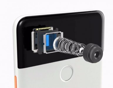 Камера смартфона в разрезе