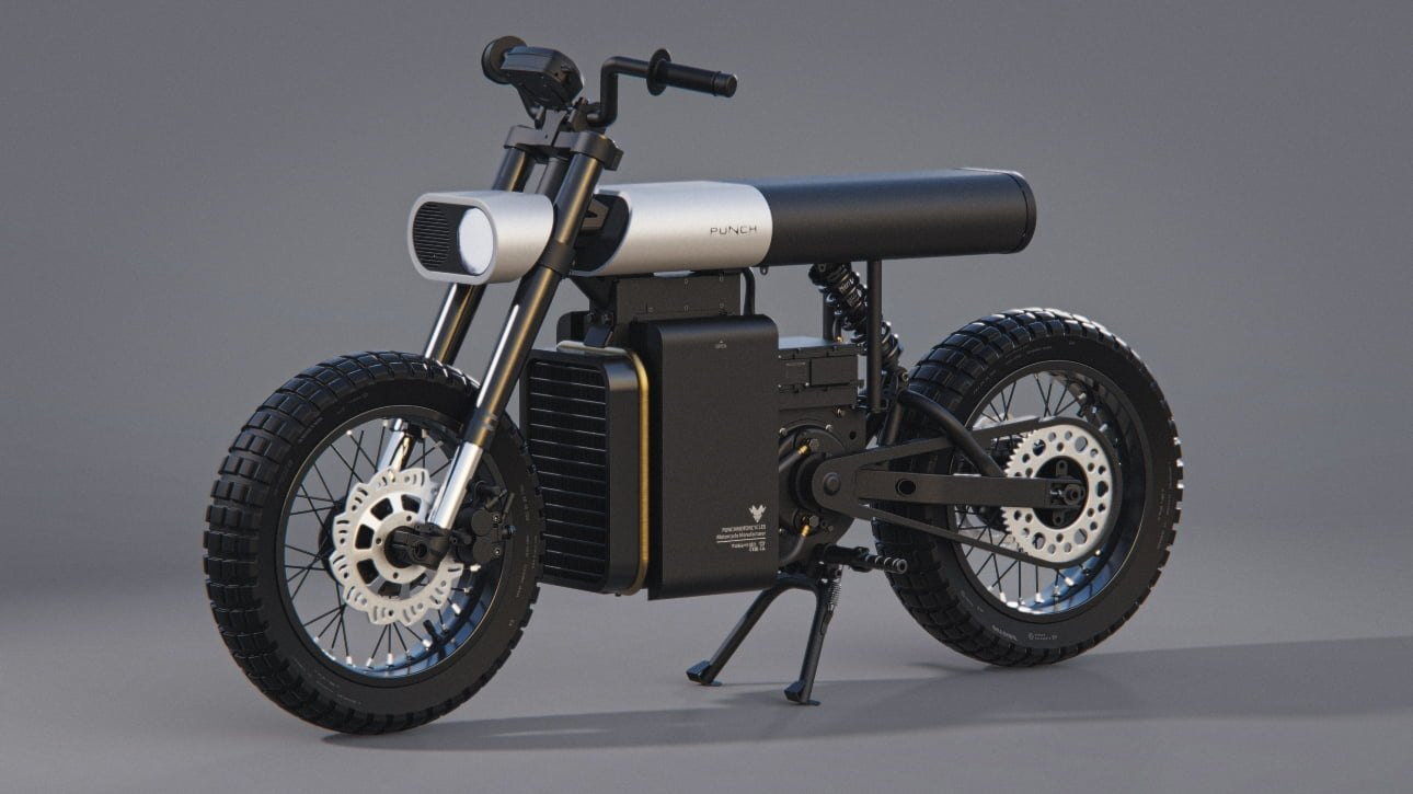 Электромотоцикл Punch
