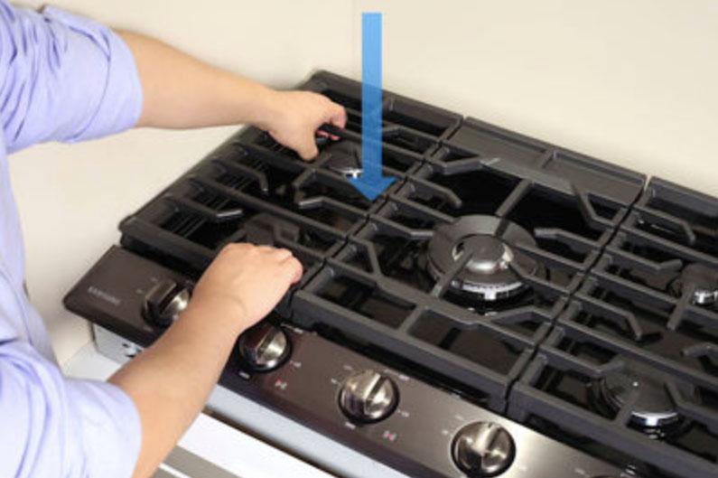 Как очистить решётку газовой плиты