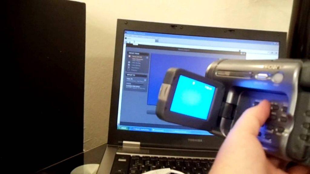 Как подключить аналоговую видеокамеру к ноутбуку