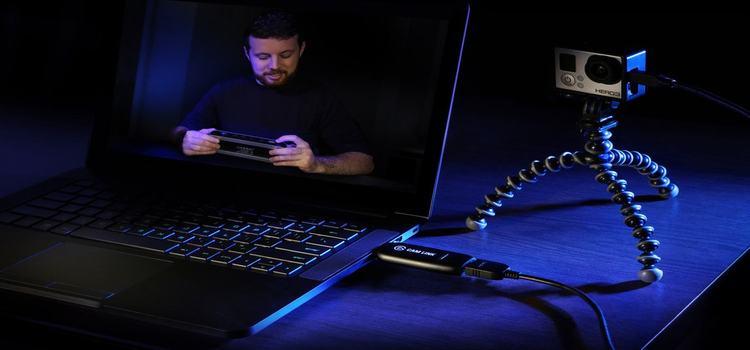 Как подключить видеокамеру к ноутбуку