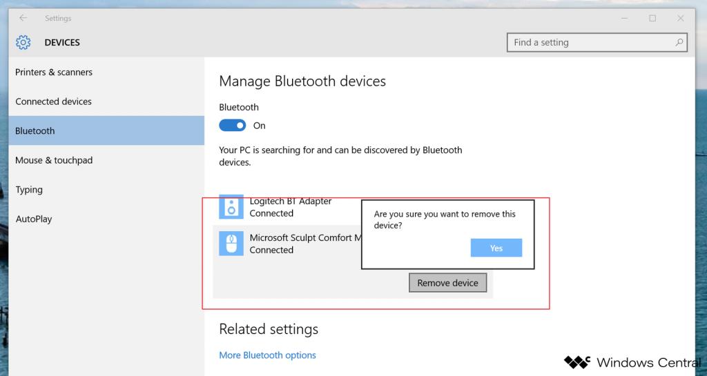 Как включить bluetooth на ноутбуке На Windows 10