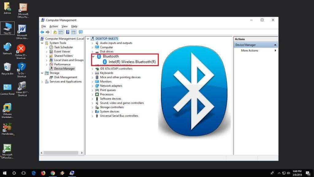 Как включить bluetooth на ноутбуке На Windows 7