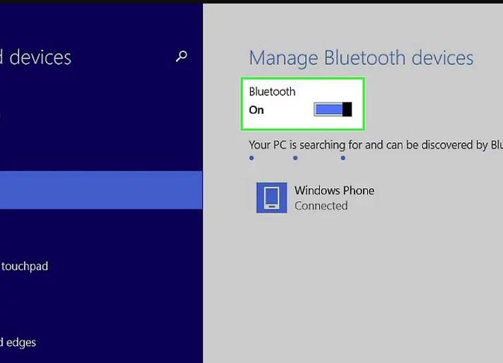 Как включить bluetooth на ноутбуке На Windows 8