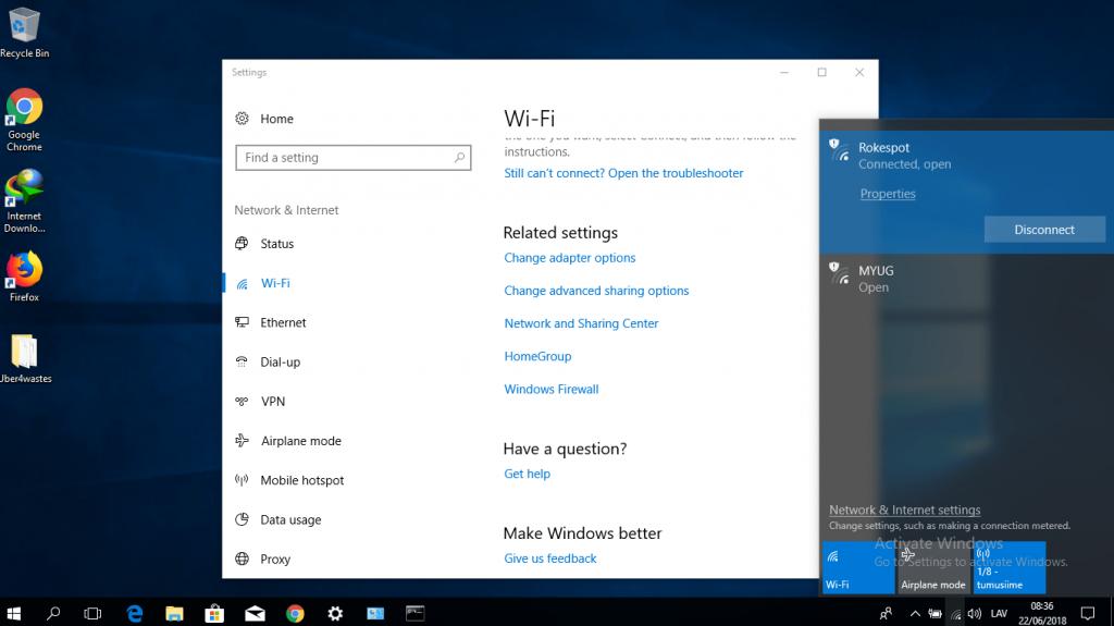 Как ввести пароль вайфай на ноутбуке Windows 10
