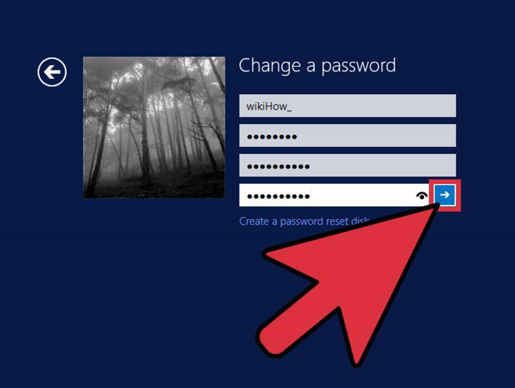 Как ввести пароль вайфай на ноутбуке Windows 8