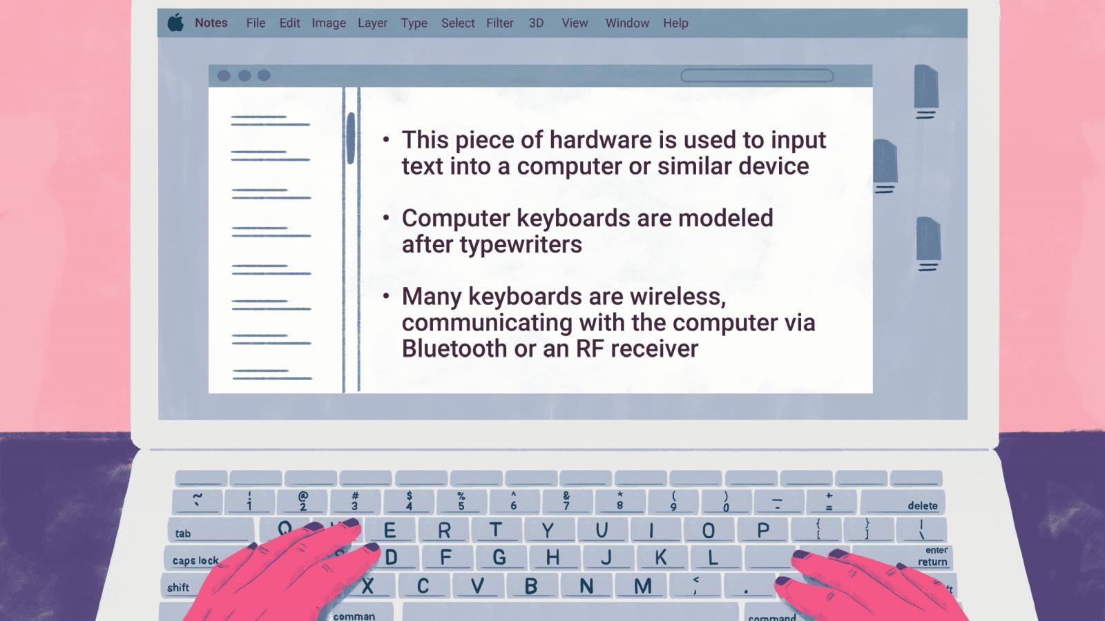 Описание клавиш ноутбука