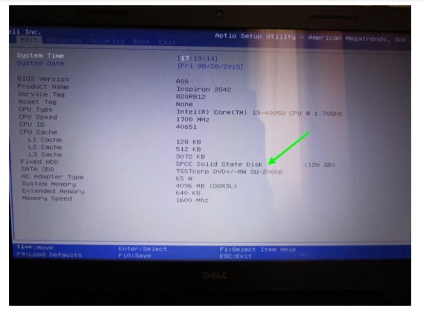 Пошаговая инструкция замены жёсткого диска Биос